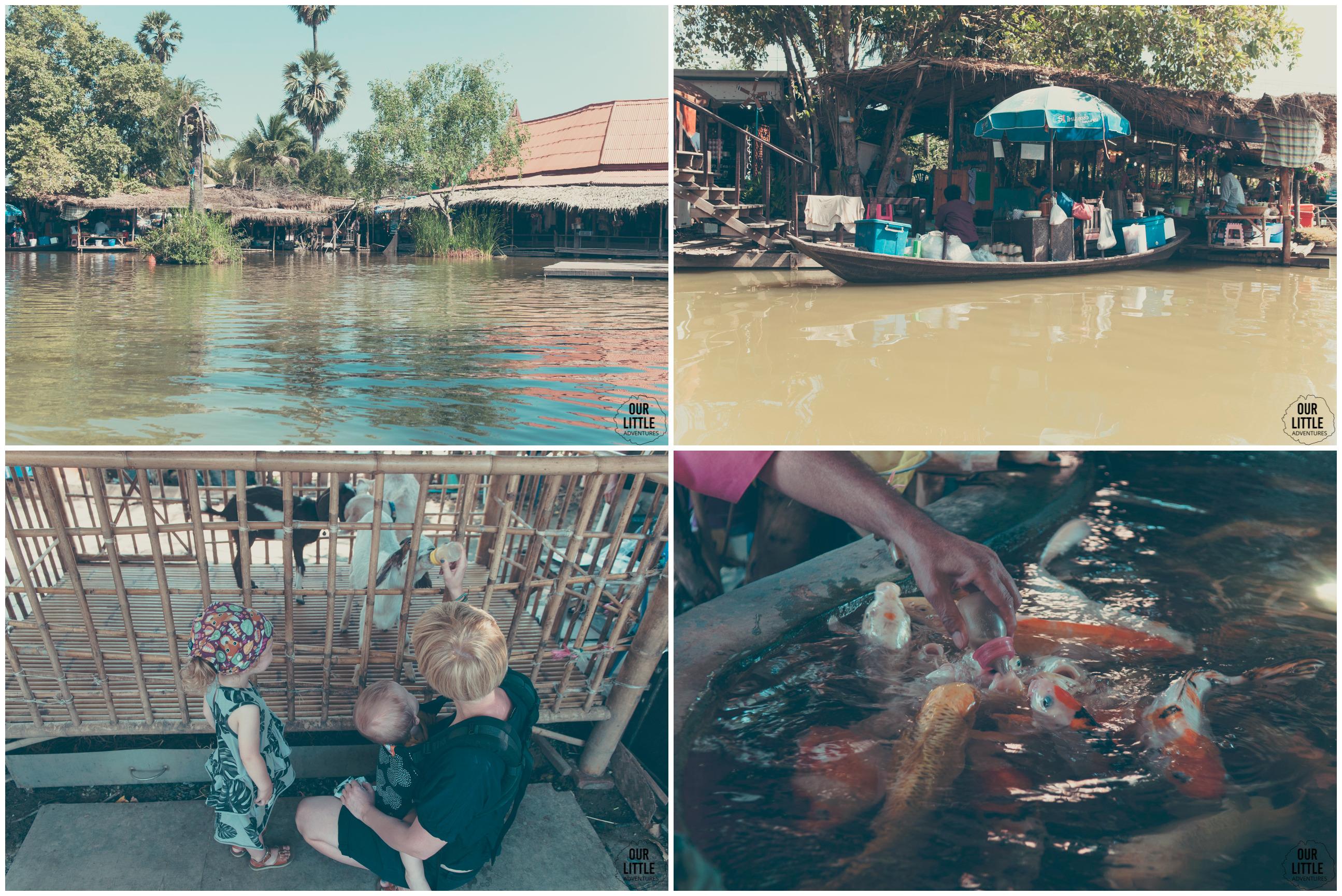 Targ wodny w Ayutthaya