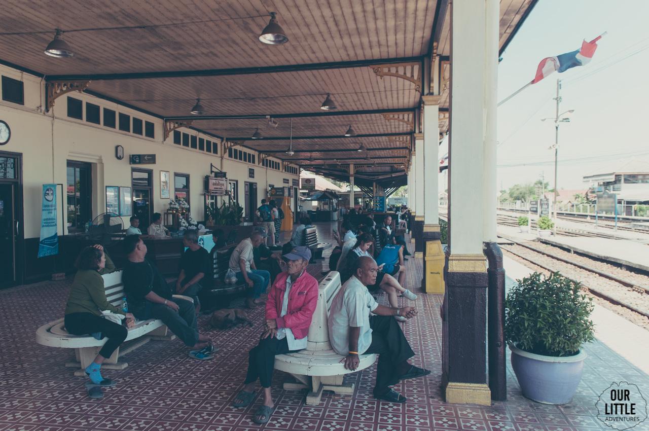 Dworzec kolejowy w Ayutthaya