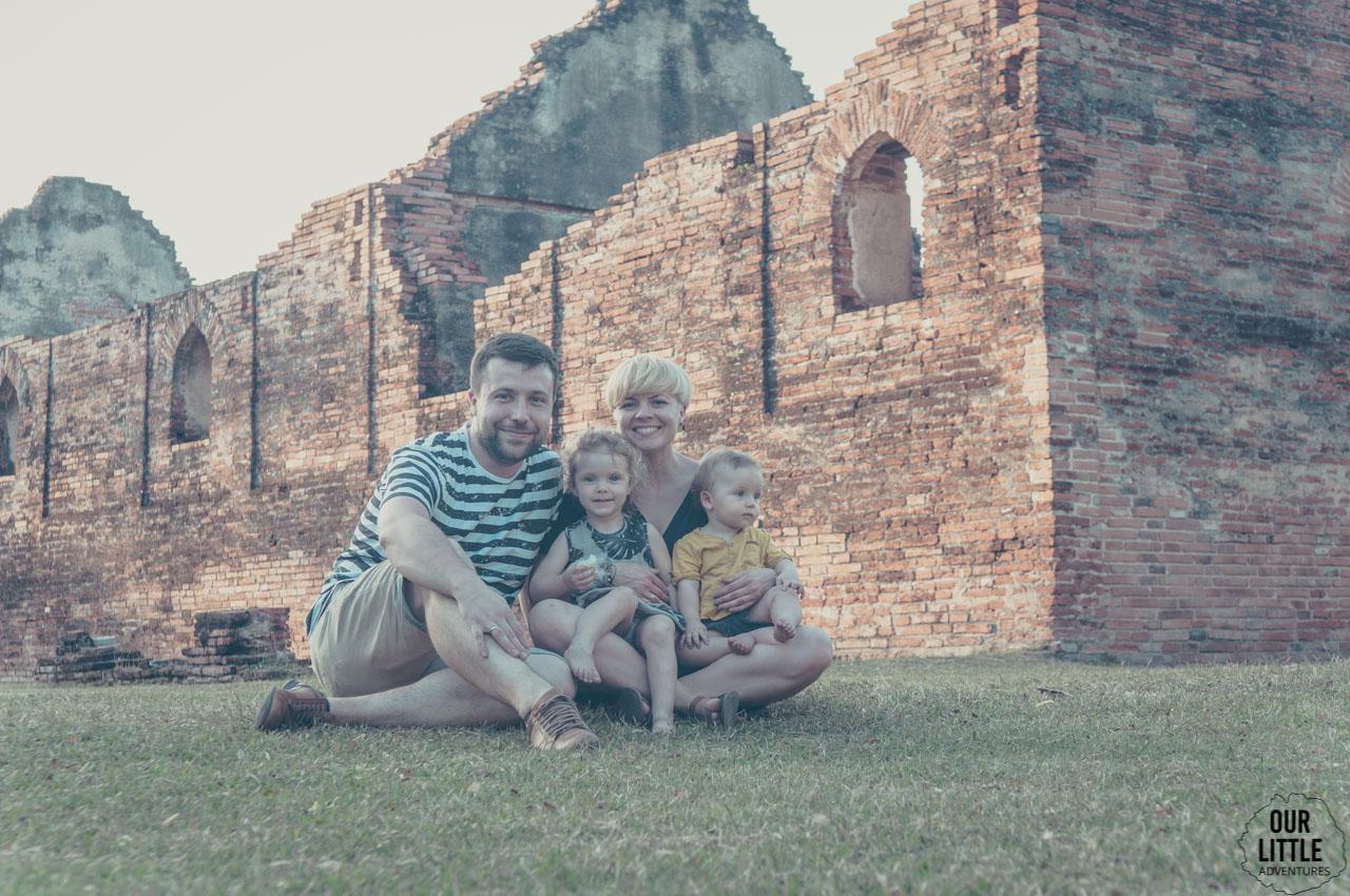 Piknik w Lopburi - mieście króla małp
