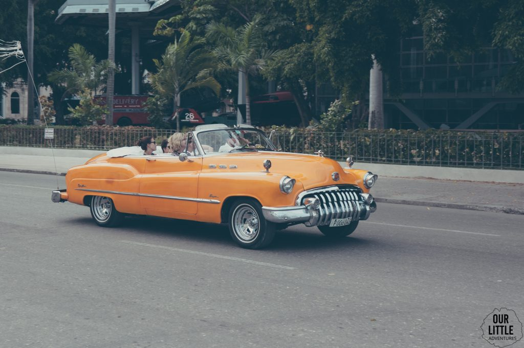 Klasyczne samochody w Hawanie są dużą atrkacją
