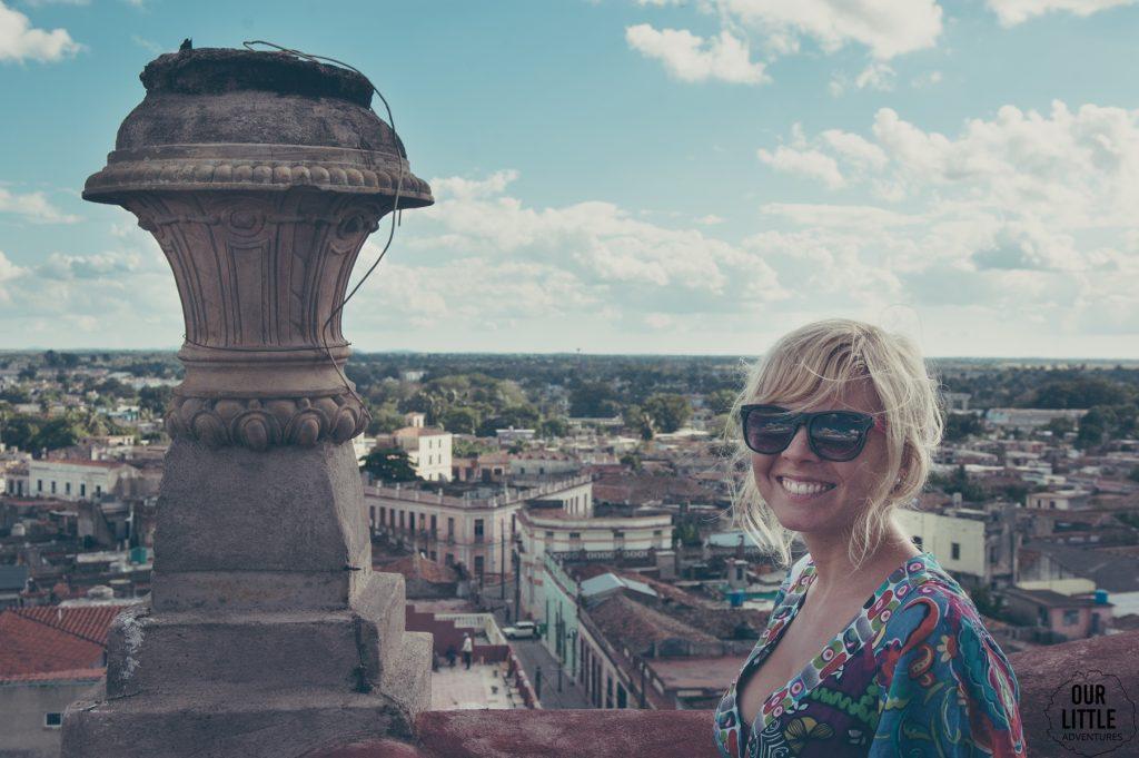 widok na camaguey z wieży Inglesia Catedral de Camaguey