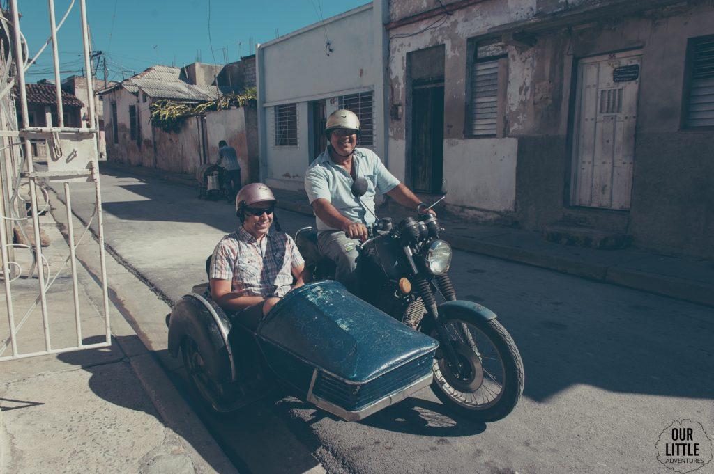 polskie motocykle w Santiago de cuba to nie jest rzadkość