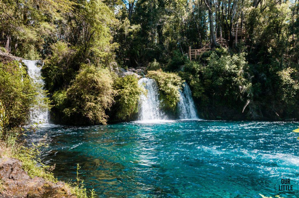 wodospady Ojos de Caburgua