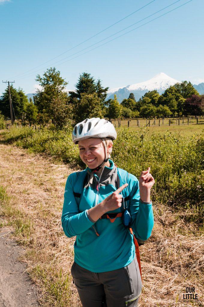 Jazda na rowerze w okolicach Pucon