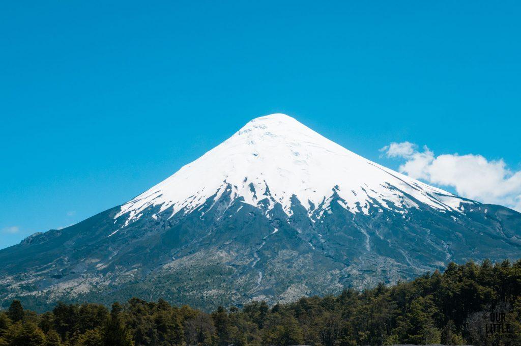 wulkan Osorno - chile z dzieckiem