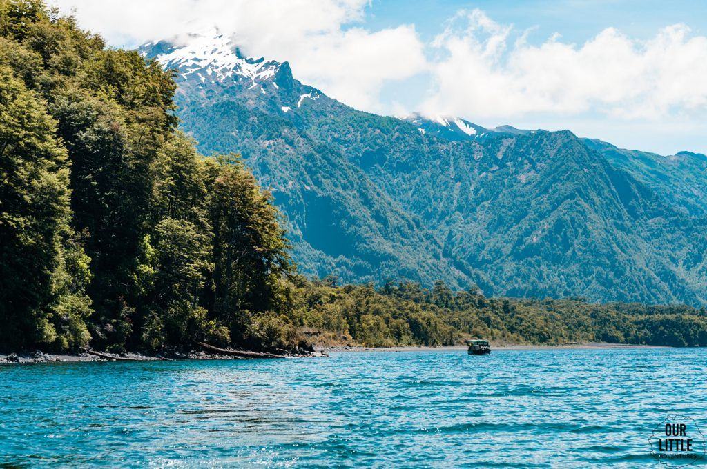 Lago Todos los santos - chile  okolice puerto montt