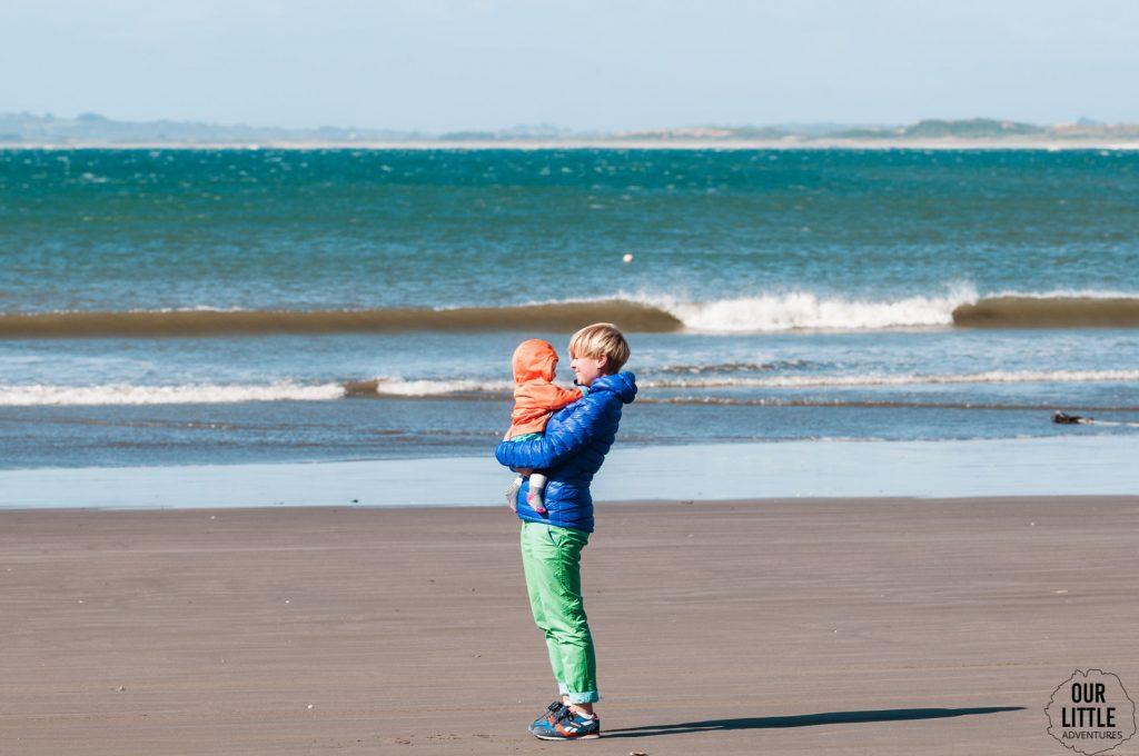 Plaża przed Islotes de Punihuil  - Chiloe