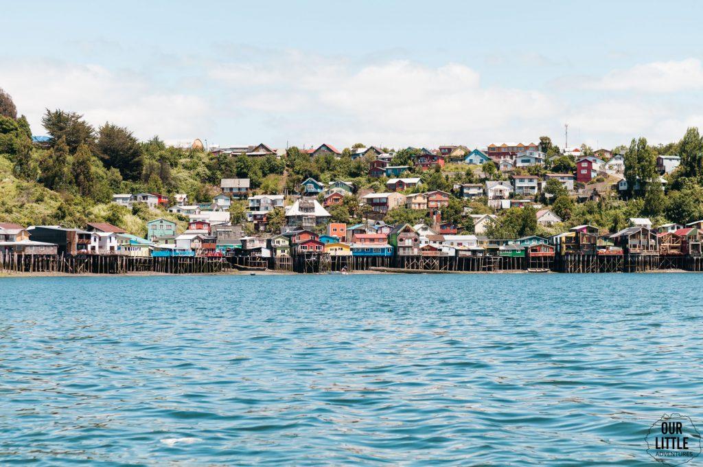 palafitos domy na palach w miejscowości Castro