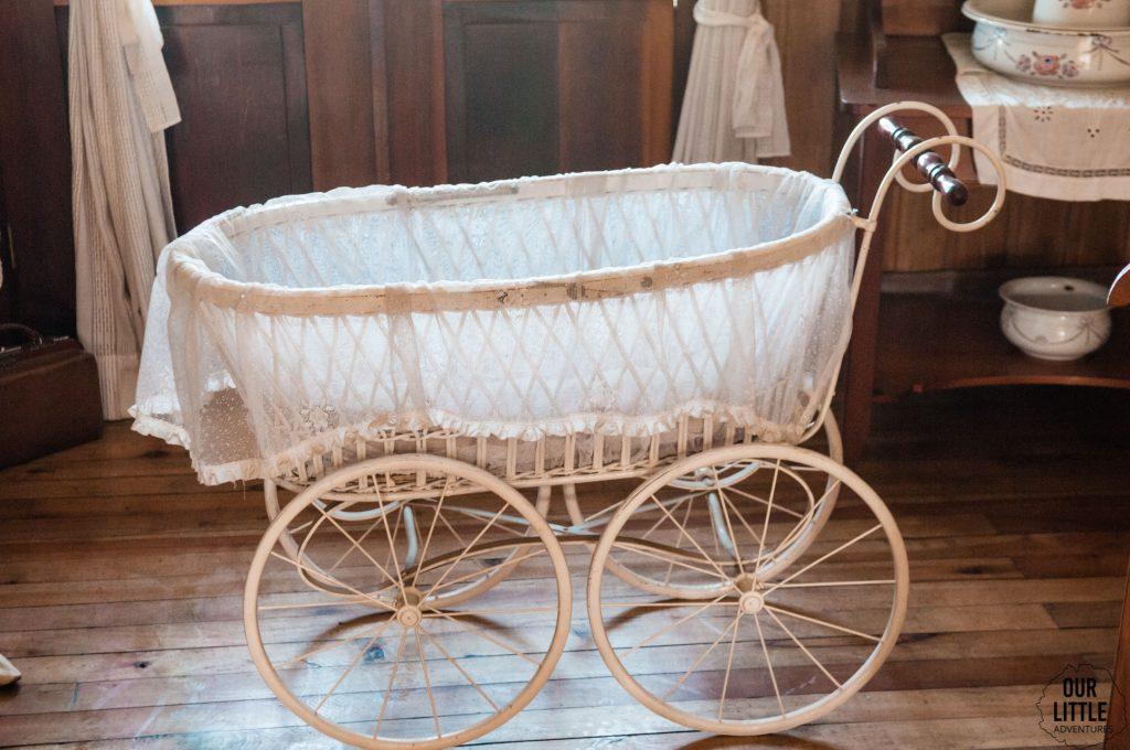 dzieciecy wózek z XIX wieku w Frutillar