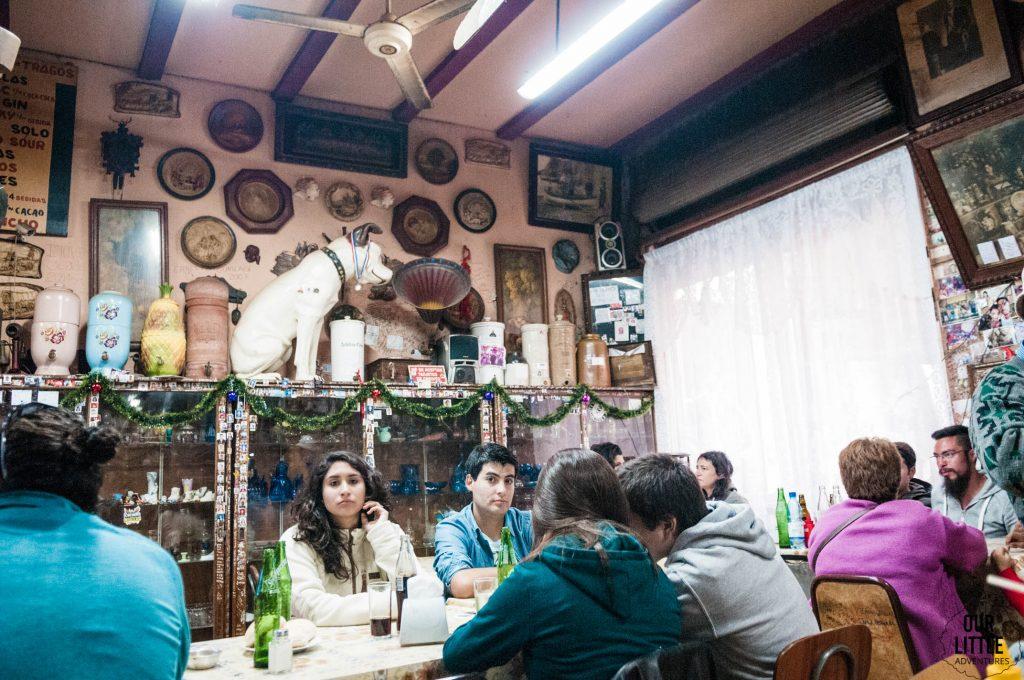 Wnętrze restauracji w Valparaiso - Jcruz