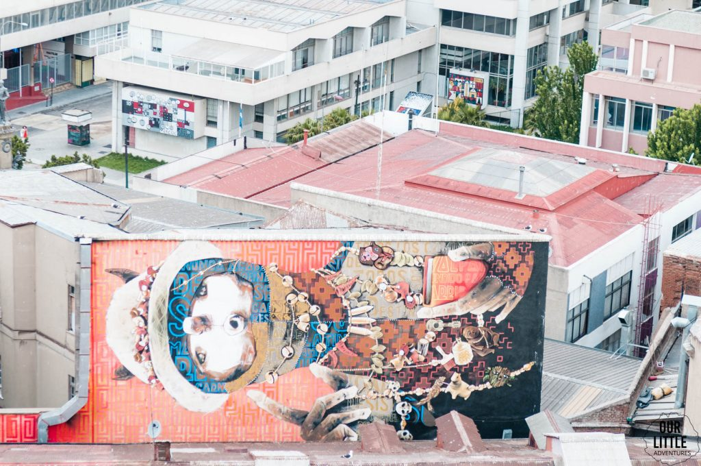 mural w Valparaiso