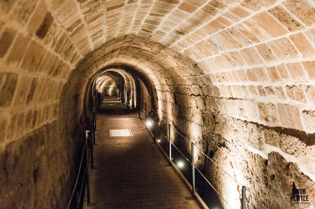 Tunel Templariuszy w Akka