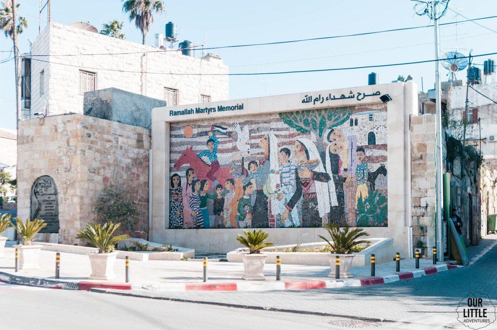 Mural w Ramallah