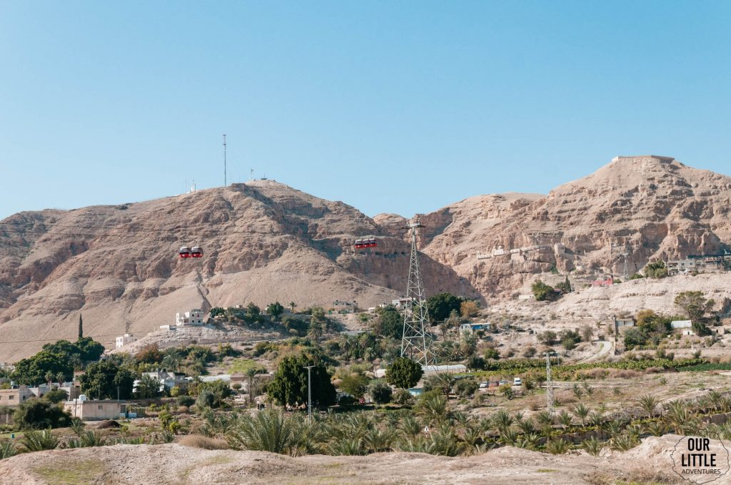 Panorama na góry otaczające Jerycho