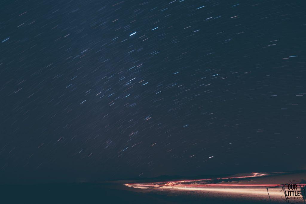 Nocne niebo na Saharze, Maroko