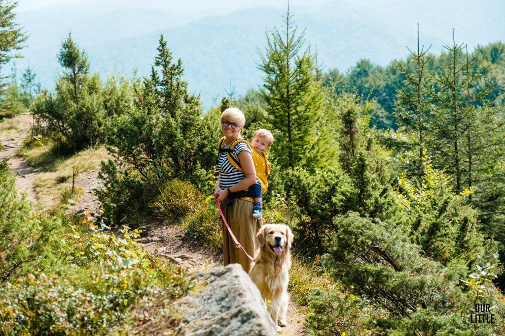 Na szlaku z psem w Bieszczadach