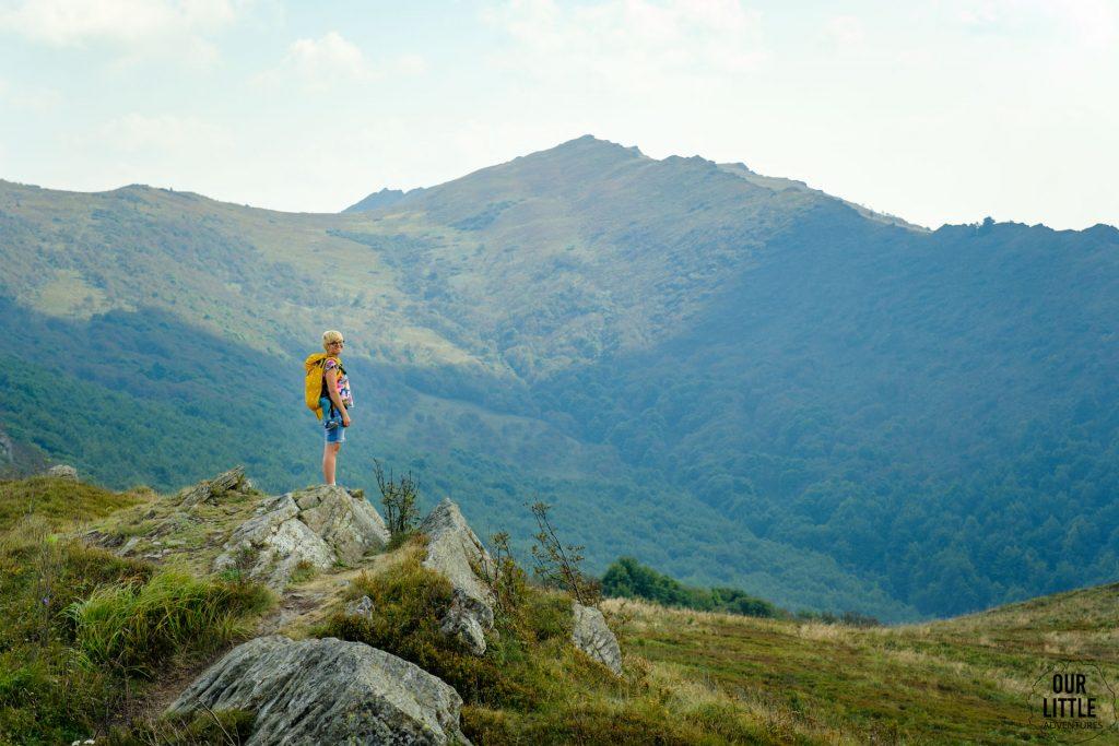 Bukowe Berdo - jeden z łatwiejszych szlaków w Bieszczadach Wysokich, Our Little Adventures