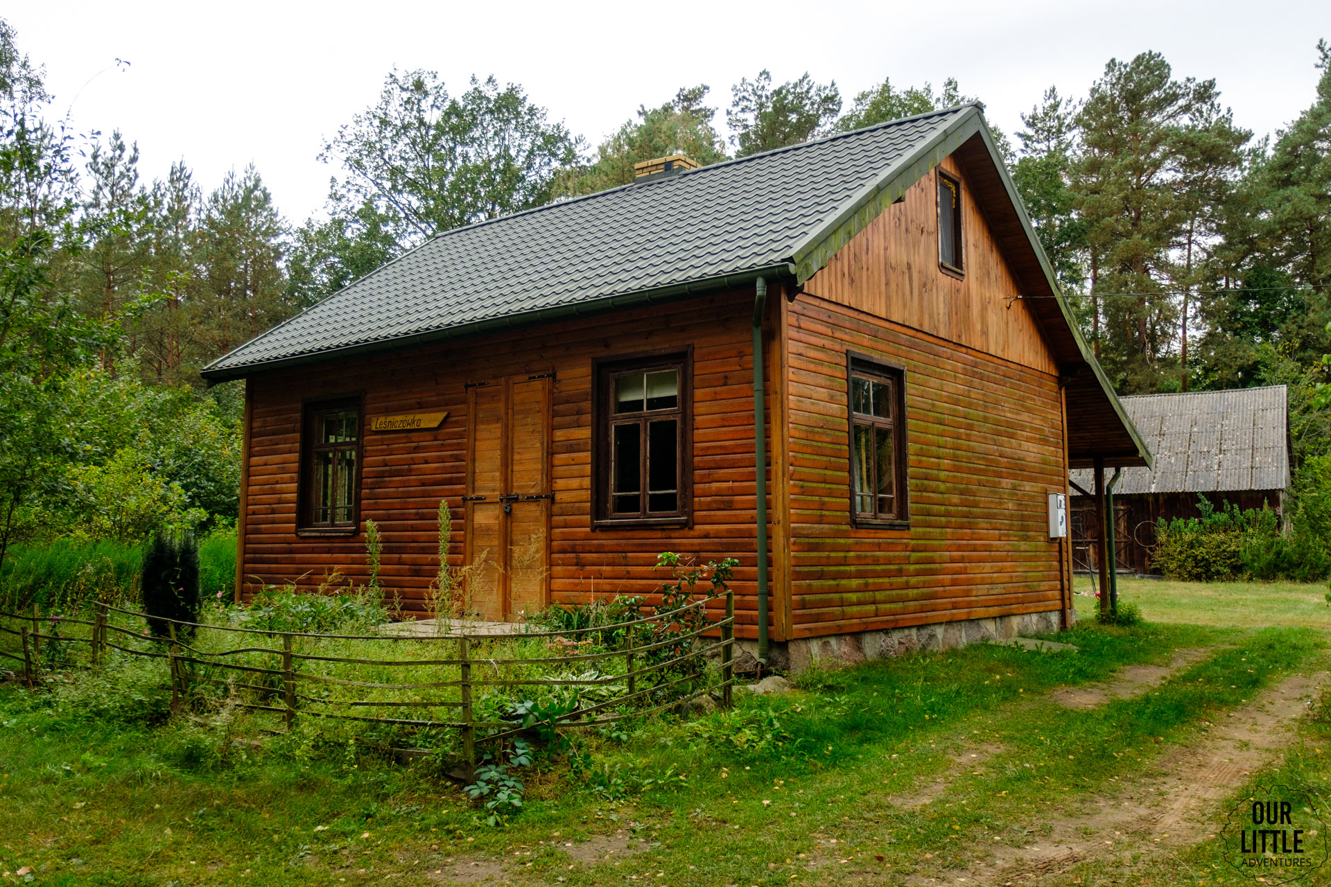 Leśniczkówka Las się żye na Podlasiu