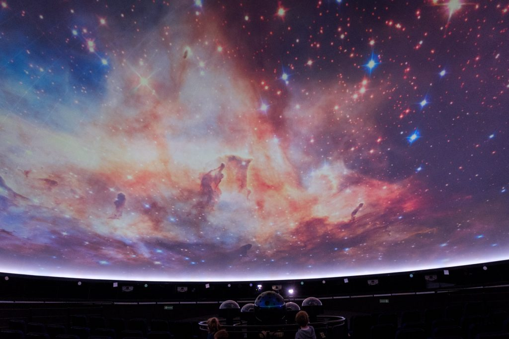 Planetarium Niebo Kopernika, Centrum Nauki Kopernik, Warszawa