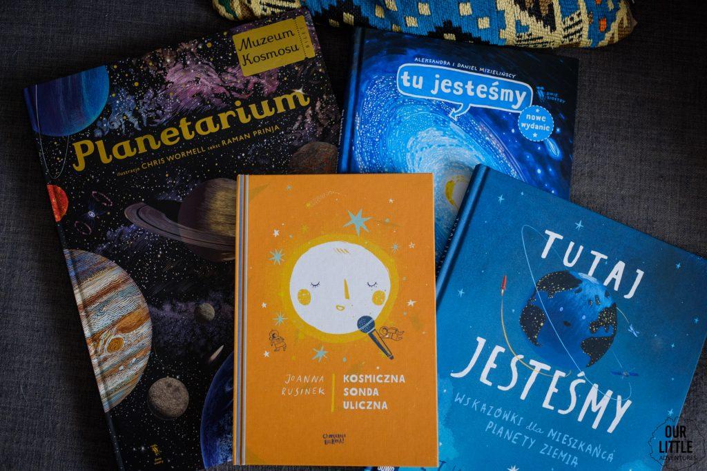 Książki o kosmosie dla dzieci