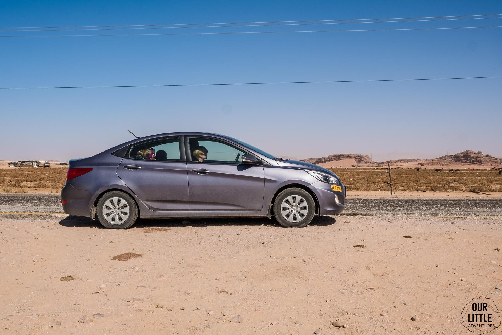 Wypożyczenie samochodu w Jordanii