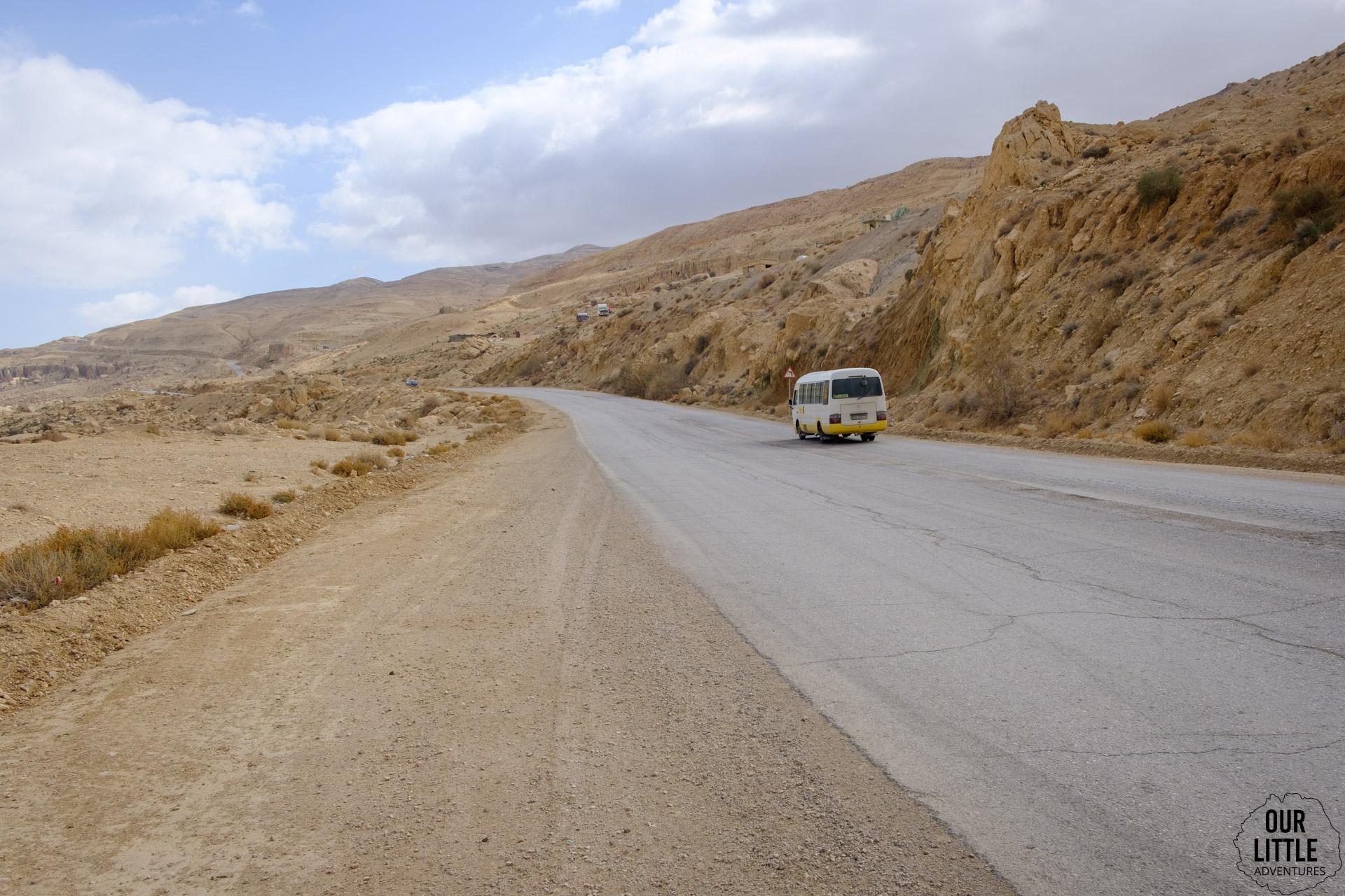 Dead Sea Highway w Jordanii