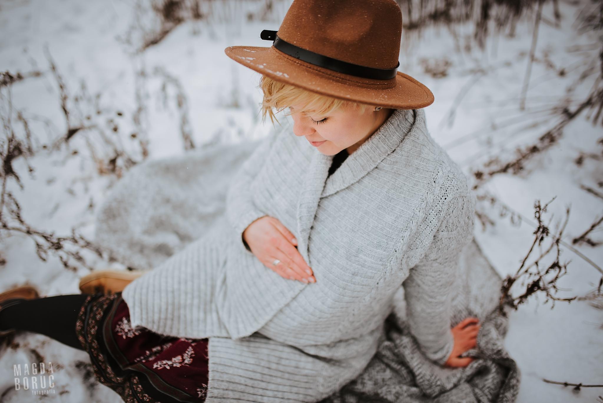 Sesja ciążowa, fot. Magda Boruc