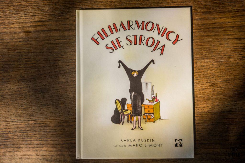 Książki o muzyce dla dzieci: Filharmonicy się stroją, Wydawnictwo Muchomor