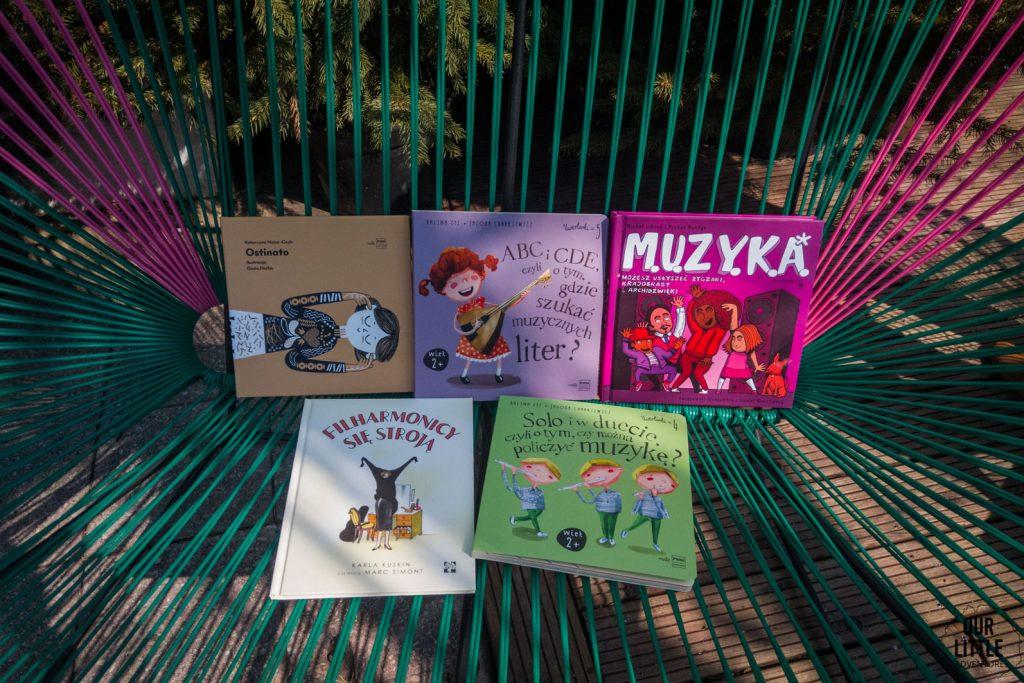 Książki o muzyce dla dzieci