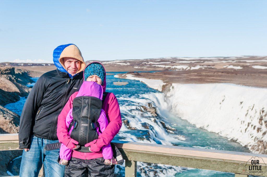 Islandzki wiatr to jedna z gorszych rzeczy, pierwszy raz odczuwamy go przy Gulfoss -