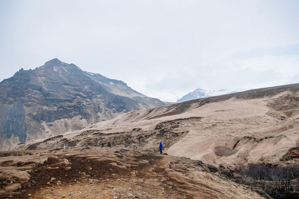 lodowiec i wulkan Eyjafjallajökull