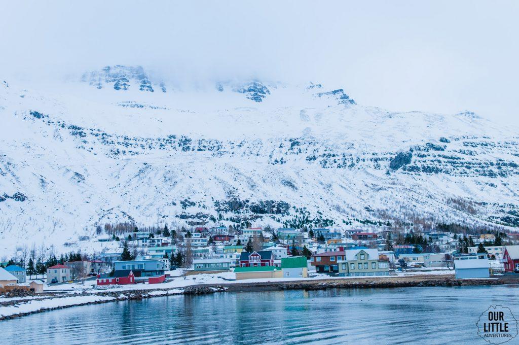 jedno z ładniejszych miast na fiordach wschodnich - seidysfjordur