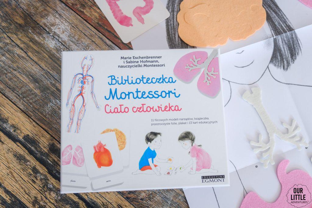 Metoda Montessori - Biblioteczka Montessori: Ciało człowieka, Wydawnictwo Egmont