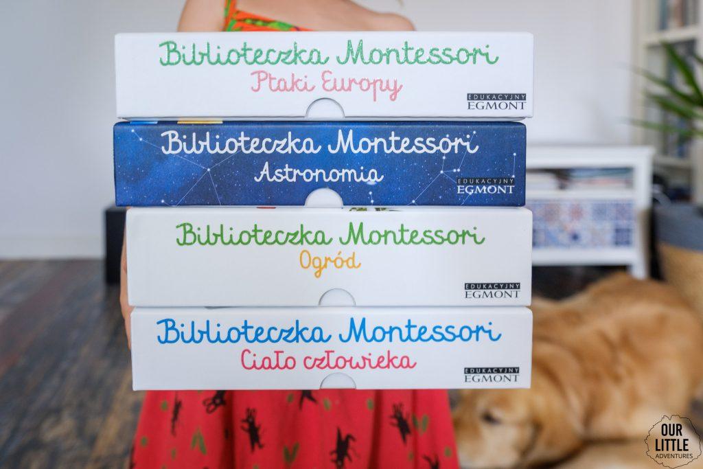 Metoda Montessori - Biblioteczka Montessori, Wydawnictwo Egmont