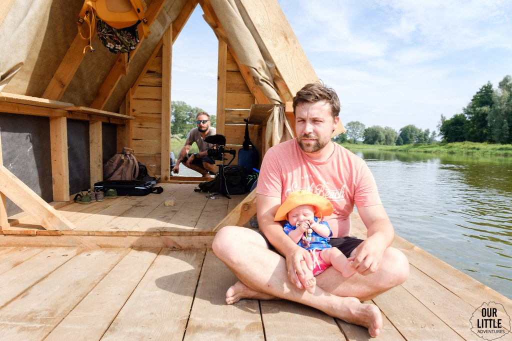 Ostatnia dzika rzeka  - spływ tratwą po Bugu z Łukaszem Długowskim