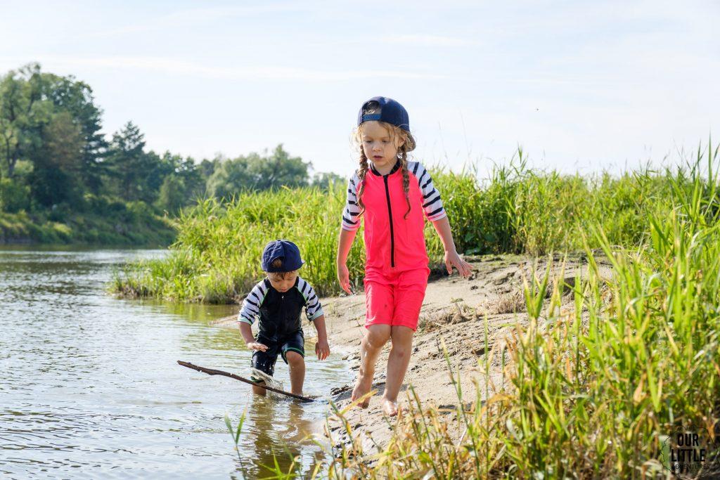Ubrania dla dzieci do zadań specjalnych - kombinezony z filtrem UV, Reima