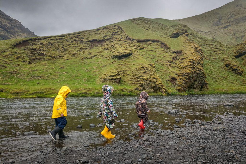 Z dzieckiem na Islandię
