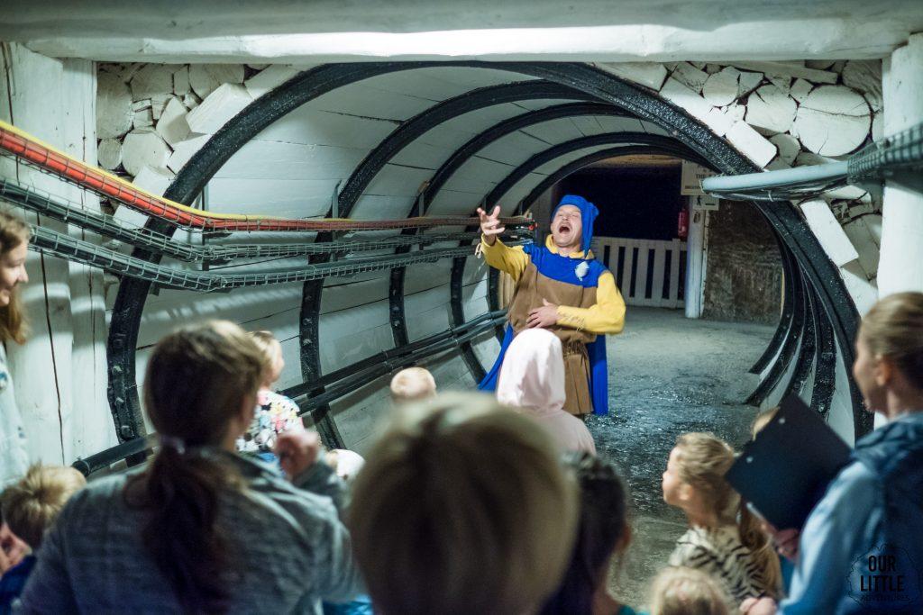 Solilandia trasa dla dzieci w kopalni soli w wieliczce