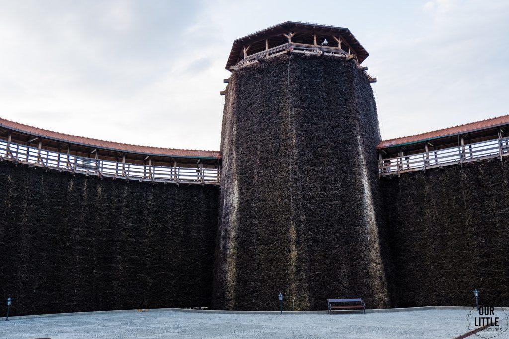 wieża widokowa tężni solankowej w wieliczce