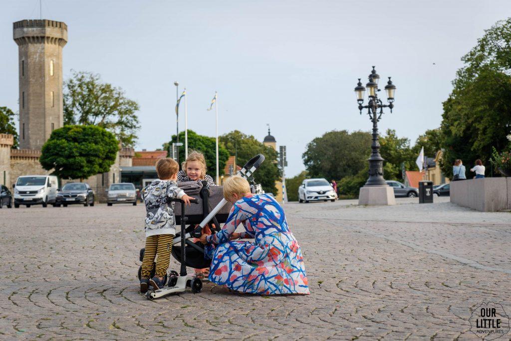 Rejs promem do Krainy Pippi - przystanek w Karlskrone, Our Little Adventures