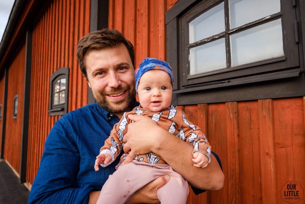 Rejs promem do Szwecji z niemowlakiem, Our Little Adventures