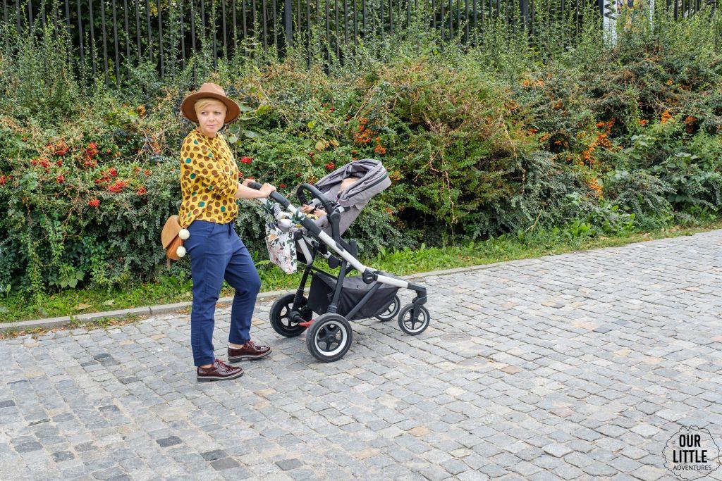 Thule sleek znakomita spacerówka dla aktywnych rodziców