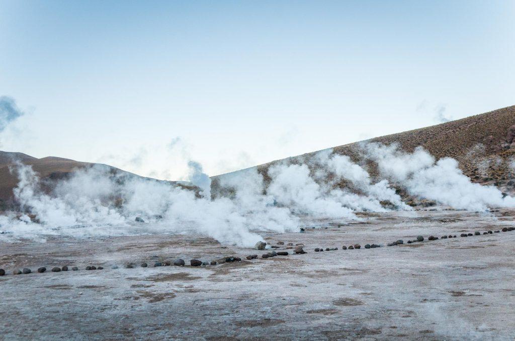 El Tatio na pustyni Atacama - najwyżej położone pole gejzerów na świecie
