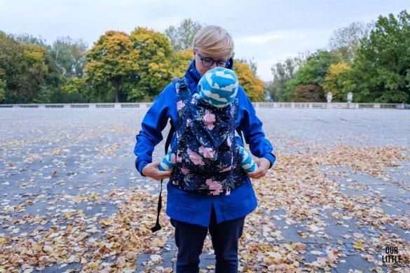 Tula standard pozycja dziecka w nosidle test i porównanie nosidełek Tuli