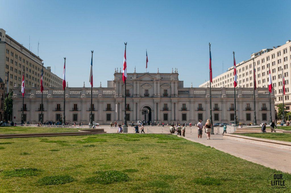 Pałac prezydencki la modena santiago de chile