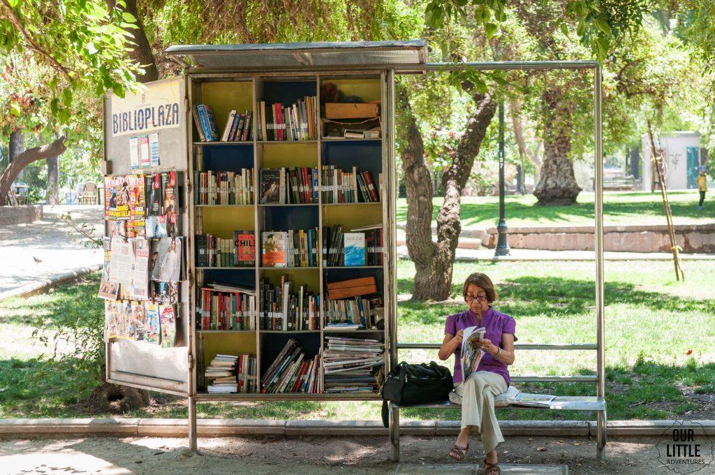 przenośne biblioteki w Santiago de Chile