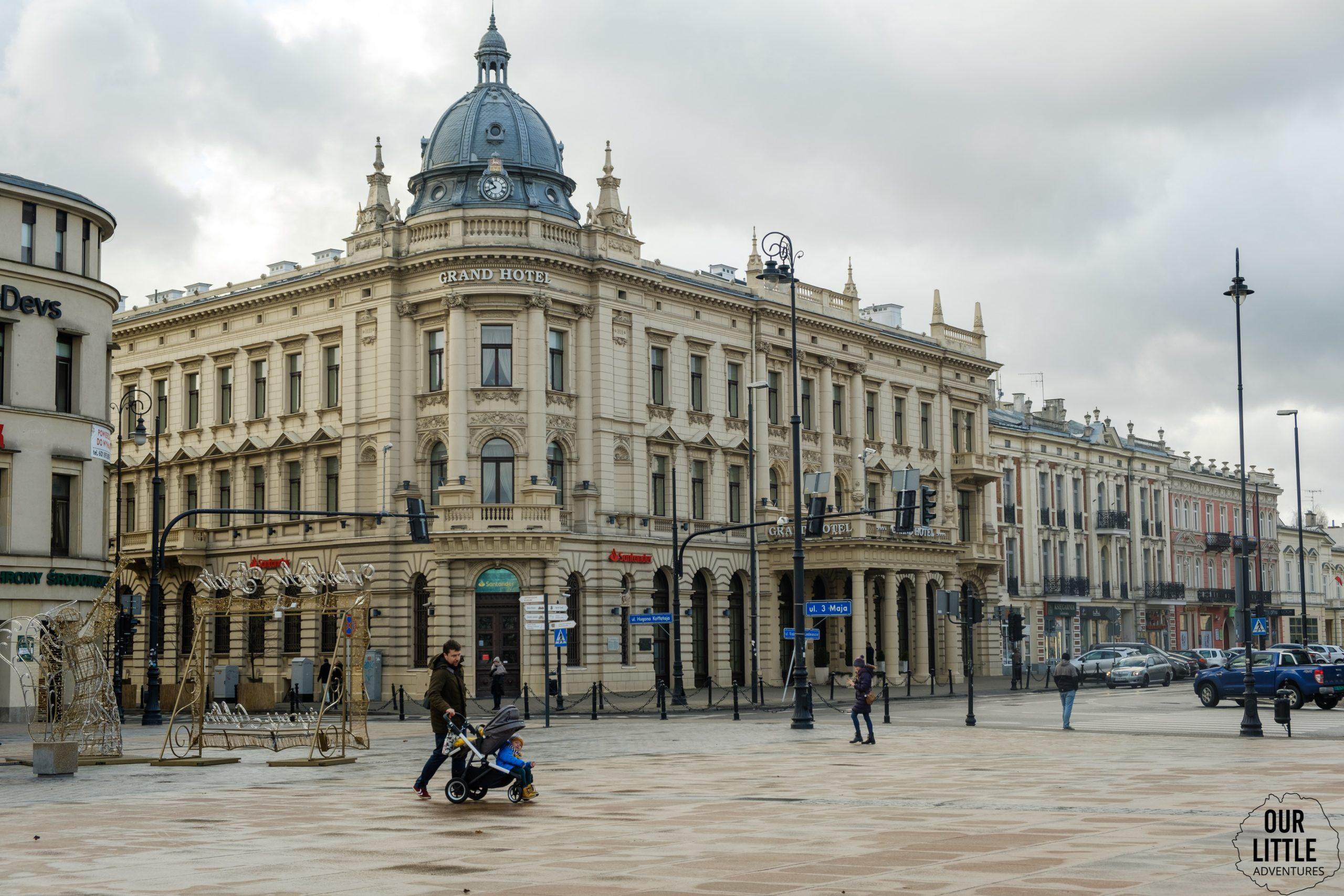 Plac litewski - zima w Lublinie