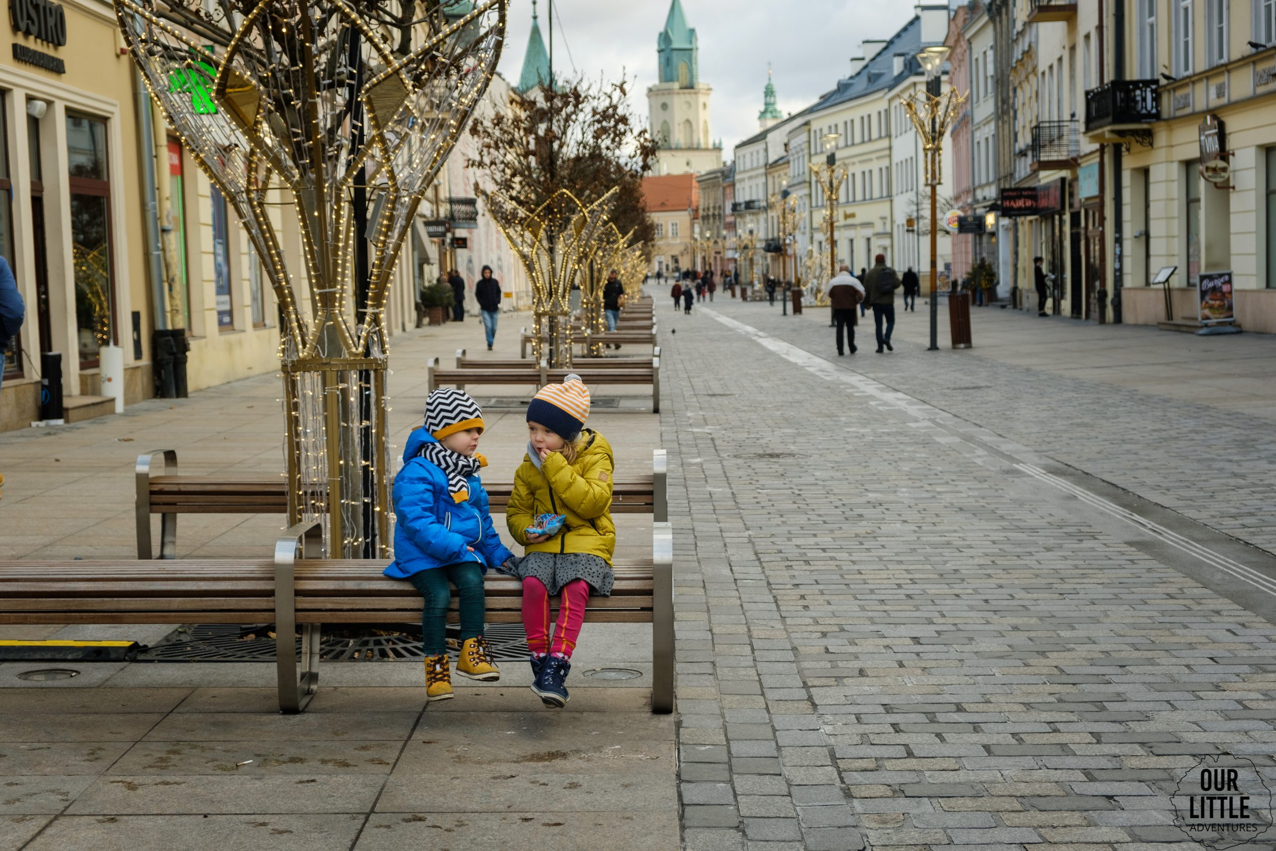 W drodze na Stare Miasto w Lublinie