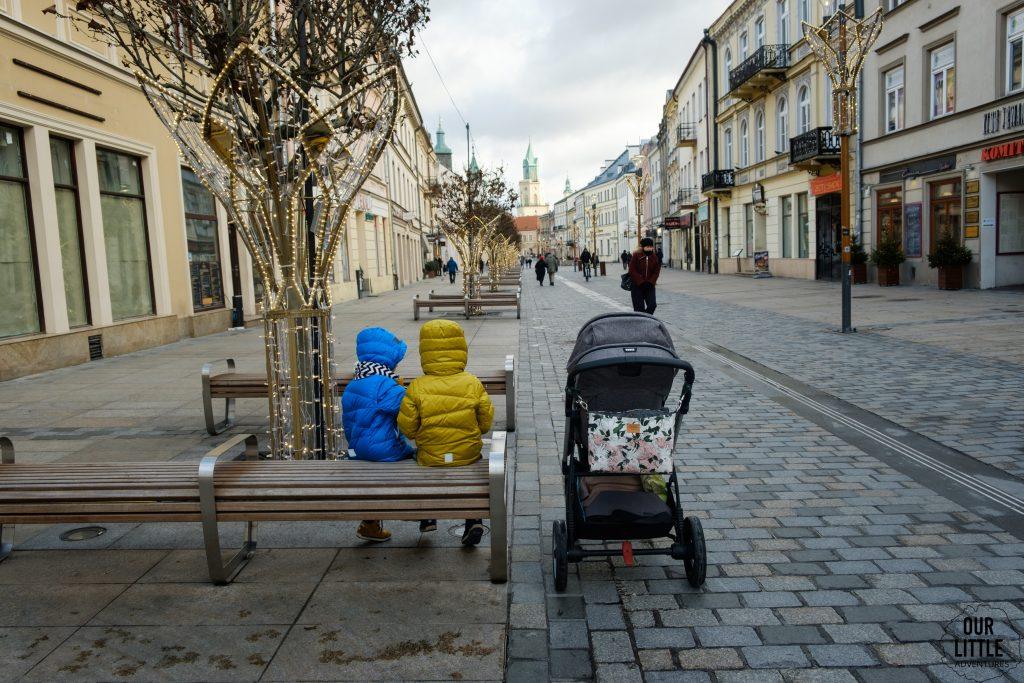 Spacer po Lublinie w kierunku Starego Miasta