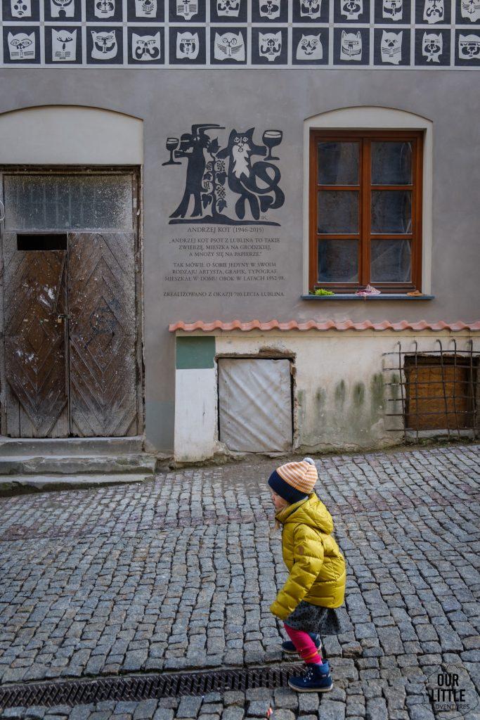 Kamienica w Koty - Spacer po Lublinie
